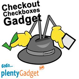 Checkout Checkboxen Gadget