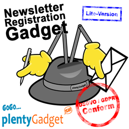 Newsletter Registration Gadget Lite-Version