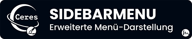 Ceres Beautifier: SidebarMenu