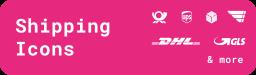 Versand Icons Widget