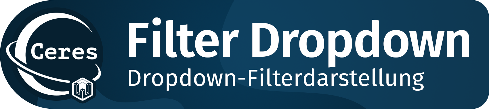 Ceres Beautifier: Filter Dropdown
