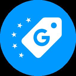 Google Shopping product reviews (stars)