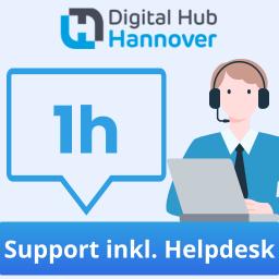1 Stunde qualifizierter Support - inklusive Helpdesk-Zugang