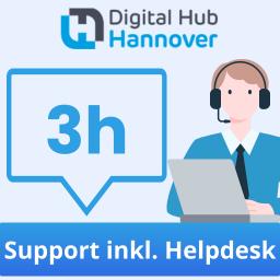 3 Stunden qualifizierter Support - inklusive Helpdesk-Zugang
