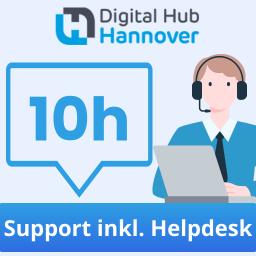 10 Stunden qualifizierter Support - inklusive Helpdesk-Zugang