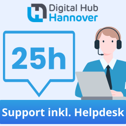 25 Stunden qualifizierter Support - inklusive Helpdesk-Zugang