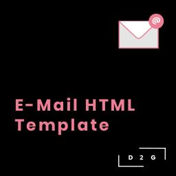HTML E-Mail Template inkl. Einrichtung