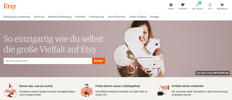Etsy | Markets | plentyMarketplace