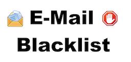 E-Mail Blacklist