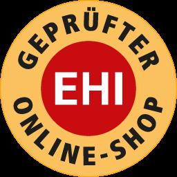 EHI Geprüfter Online-Shop Widget
