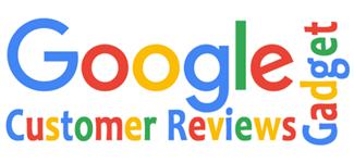 Google Kundenrezensionen Gadget